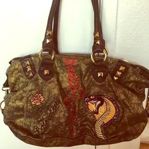 Ed Hardy Vintage Shoulder Bag